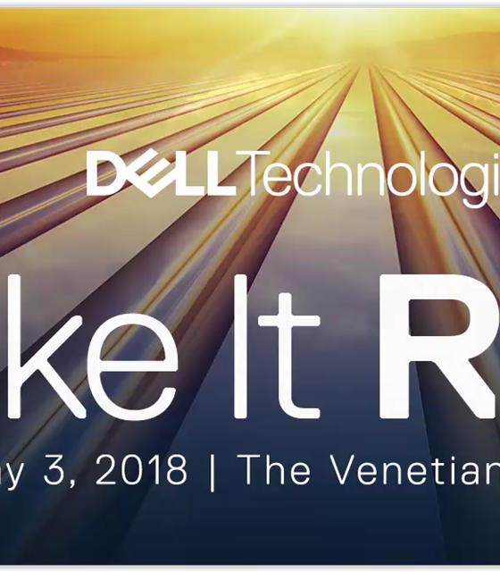 Mjukvara i fokus dag 1 på Dell Technologies World 2018